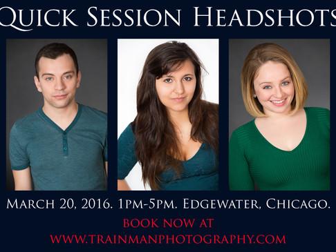 Quick Session Headshots