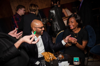 Trainman Photography at the Chicago Magic Lounge