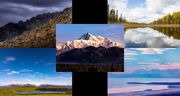 Alaska Views - Set of Ten Postcards