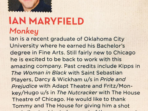 Ian Maryfield at The House Theatre of Chicago