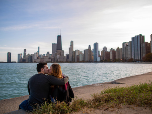 Katie and Tim's Chicago Engagement