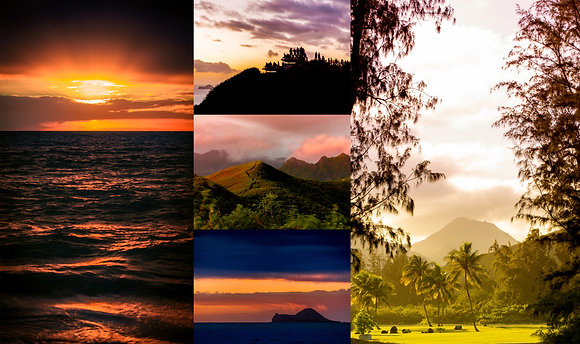 Oahu Warms - Set of Five Postcards