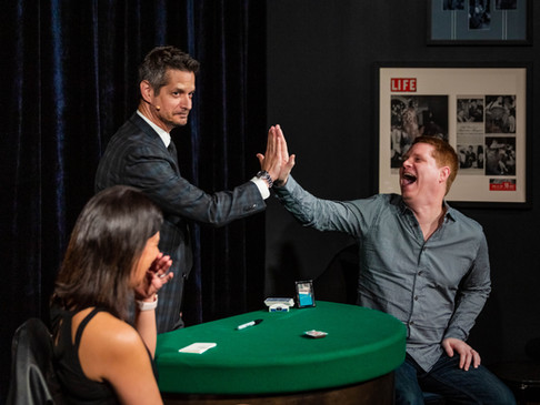 Jeff Loeser at the Chicago Magic Lounge