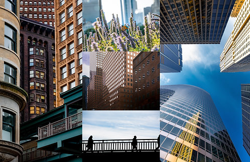 City Views - Set of Five Greeting Cards