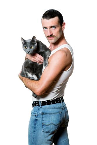 Freddie Mercury Cat Dad