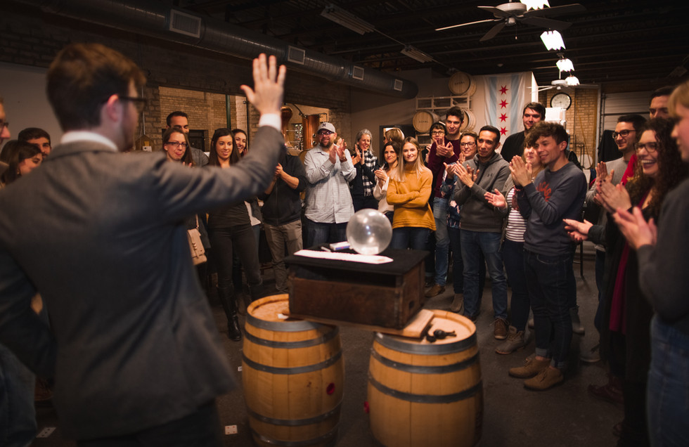 Koval Distillery Magic & Cocktails Class