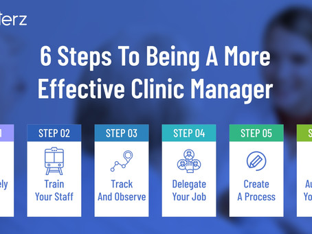 Steps to Being More Effective Clinic Manager