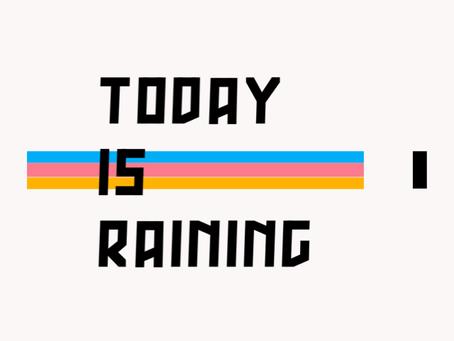 悪天候の為レッスンキャンセルのお知らせ。