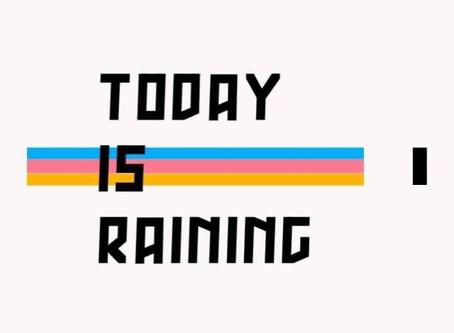 悪天候の為 Bad weather