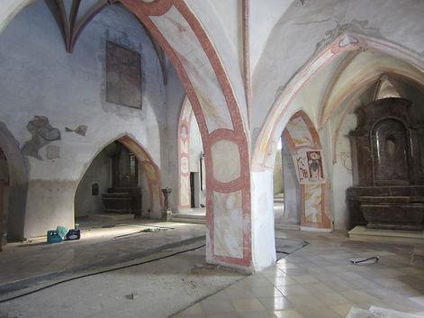 Innenrenovierung Pfarrkirche Stratzing