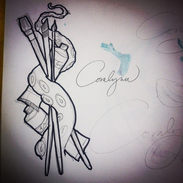 Working on a logo..