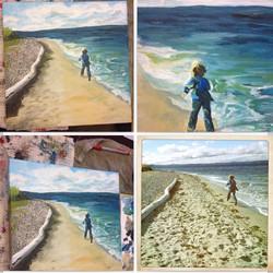 Commission work #artbuyers #artcollector #artrepreneur #buyit #commission #coralynnarcandart #freesp