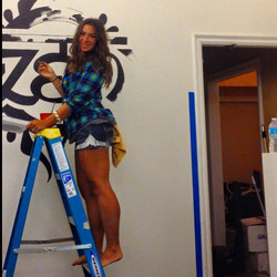 Painting all night long!!