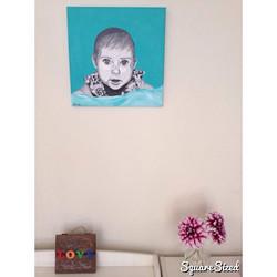 live-the-dream expert! #art #artist #baby #babyportrait #infa
