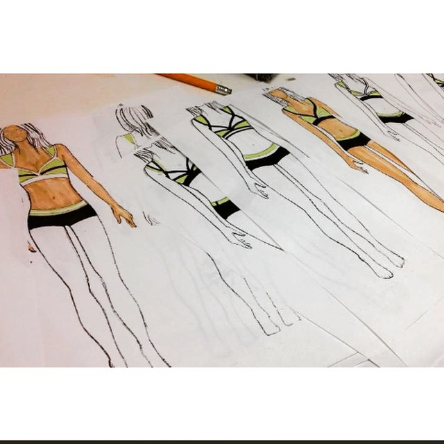Back in the day when I was designing #art #artist #boho #coralynnarcandart #designer #fashiondesign
