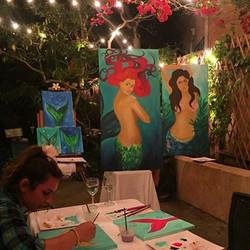 Got to teach again, I've missed it so much! #art #beachgirl #coralynnarcandart #gypsysoul #hireme #o
