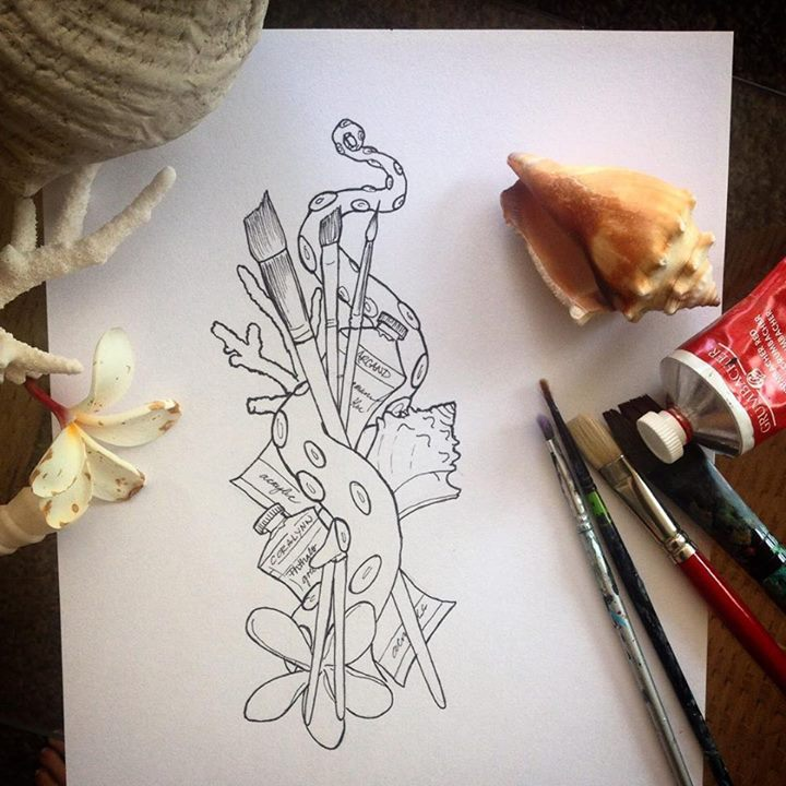 #art #artist #logo #coral #coralynnarcandart #dowork #gypsysoul #underwater #wanderlust #travelingar