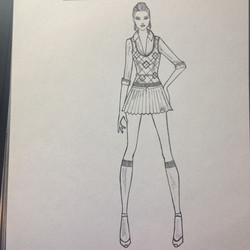 #fashiondesign #fashionillustration #coralynnarcandart #artist #dreamer #designer #dreamjob