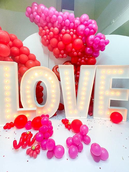 Valentine's themed