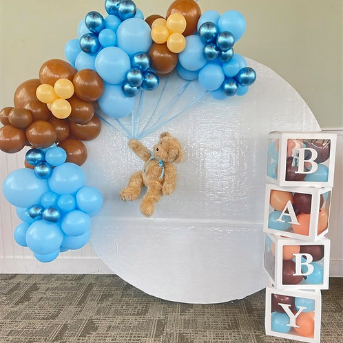Baby shower mini garland