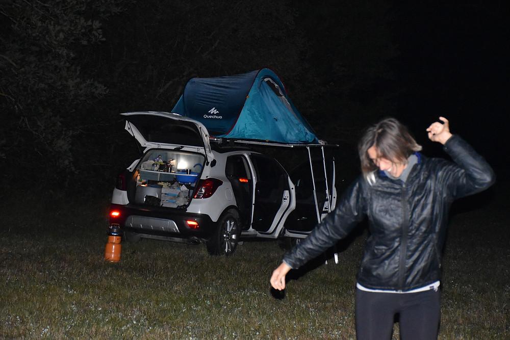 campeggio libero in Umbria con CampUp