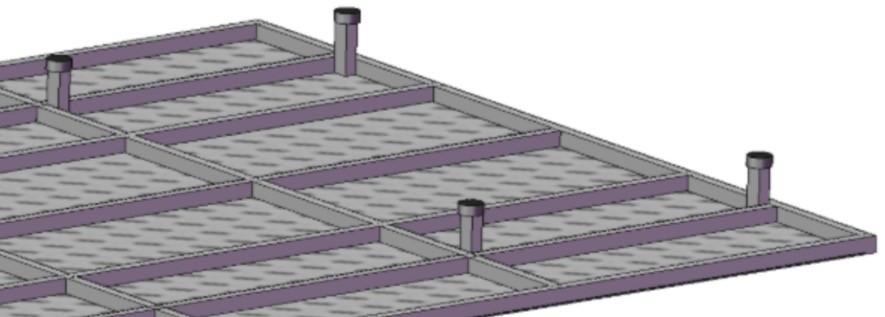 installazione componenti progetto tenda da tetto