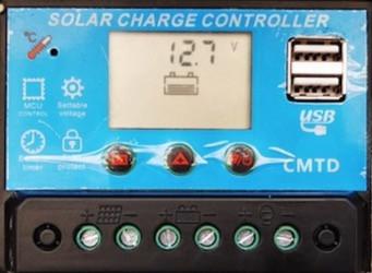regolatre di carica nel pannello di gestione fotovoltaico