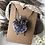 Thumbnail: Amethyst heart and labradorite crystal copper necklace