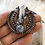 Thumbnail: BC Forest quartz Crystal and moonstone crown pendant