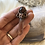 Thumbnail: Tangerine Quartz dm sunstone crystal necklace