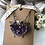 Thumbnail: Amethyst heart and herkimer Diamond copper necklace