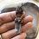 Thumbnail: Labradorite quartz Crystal and indigo kyanite necklace