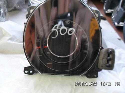 Quadro strumenti fiat 500