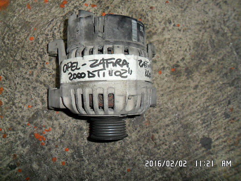 Alternatore Opel zaffira 2000 dti 2002