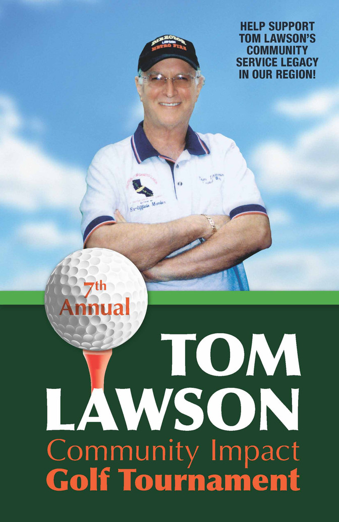 7th Annual Tom Lawson Community Impact Golf Tournament- October 6th