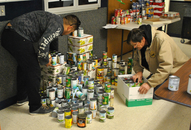 Generosity of Our Members Makes Holiday Canned Food Drive a Great Success!
