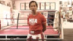 Master Sken Teaching Muay Thai Grading