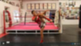 Muay Thai Grading Video Screen shot