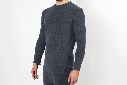 100% Hanf Pullover CHARCOAL