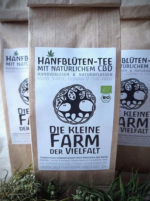 Hemp blossom tea (organic) (with natural CBD) - 30g
