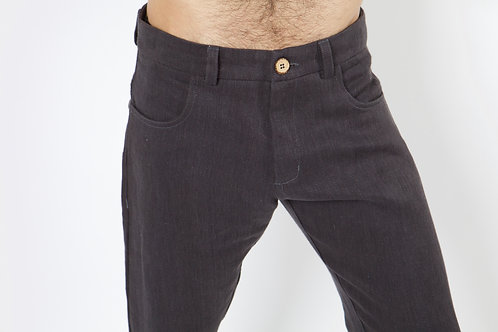 100% Hanf Jeans CHARCOAL