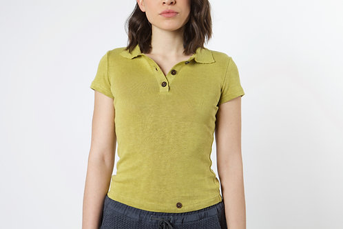 100% Hemp Polo Shirt