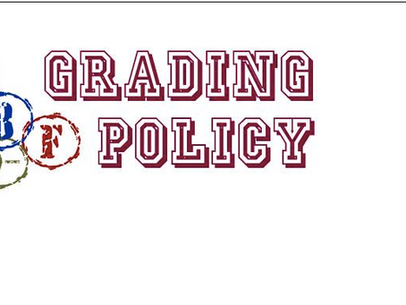New Grading Policy for Families