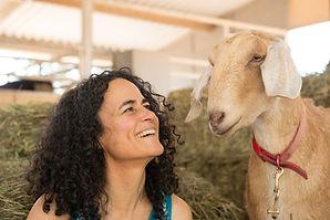 Chanella goat & Maia Kincaid Animal Comm