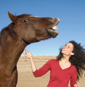 Animal Communication having fun, Red and Maia Kincaid