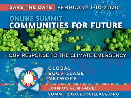 Happening Jan 1 - 10th Free Online Event: Solutions to the Climate Emergency
