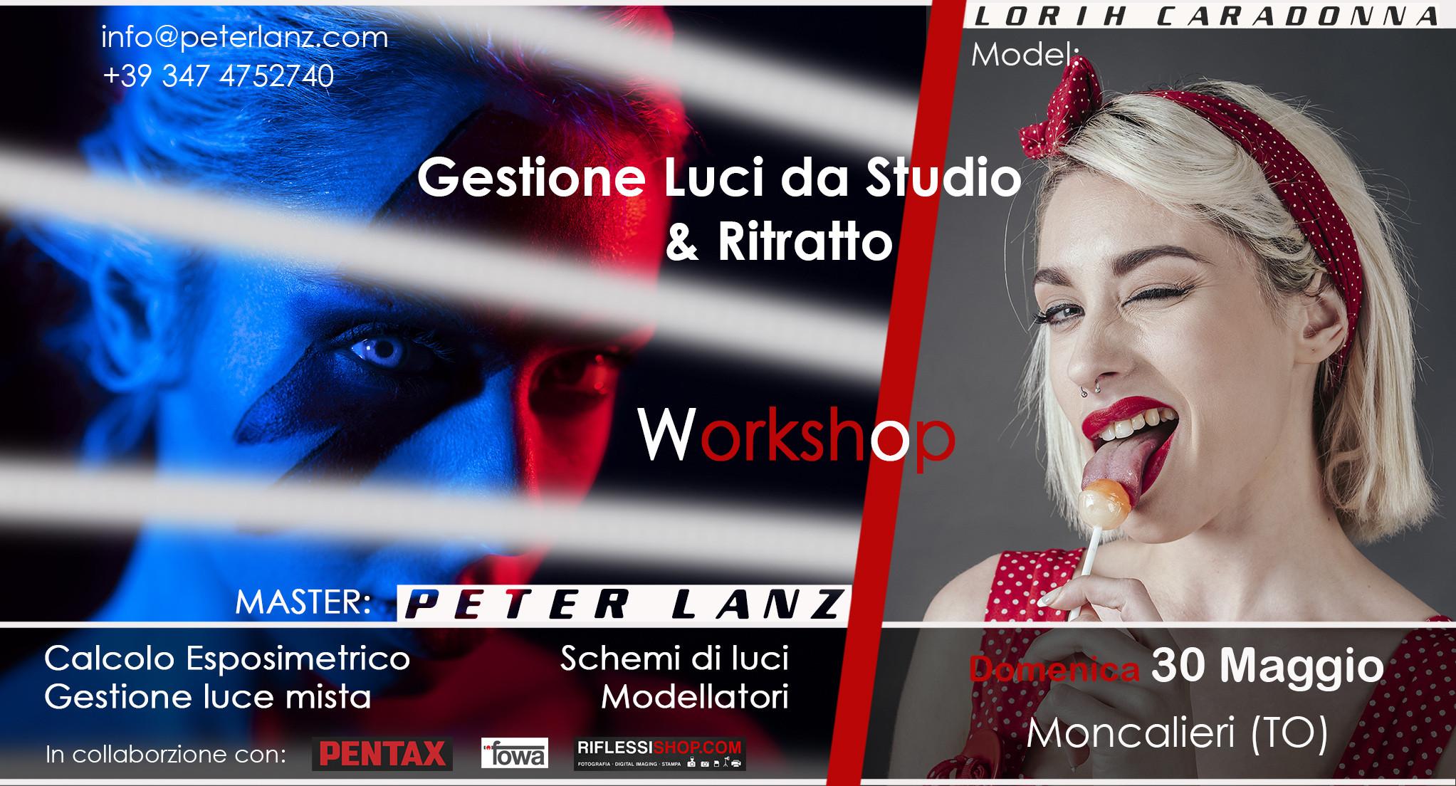 Workshop Luci da Studio & Ritratto