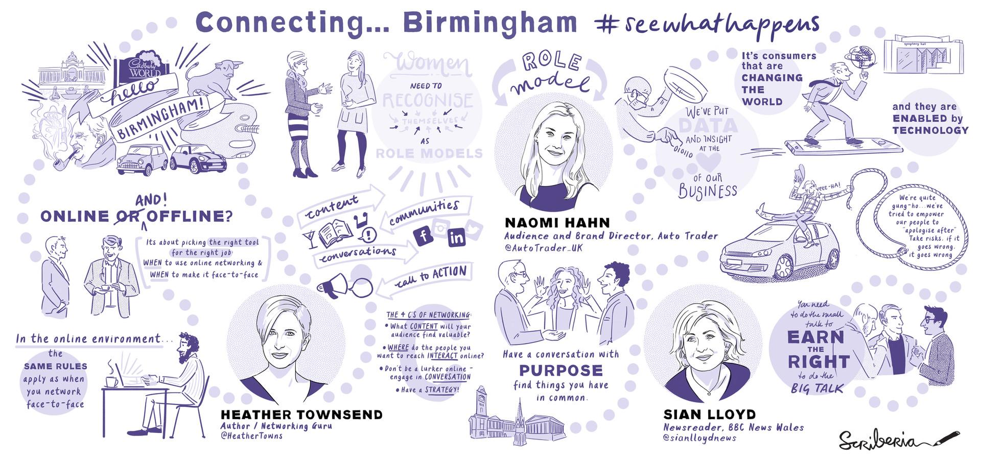 Connect Birmingham Digital Live Scribe