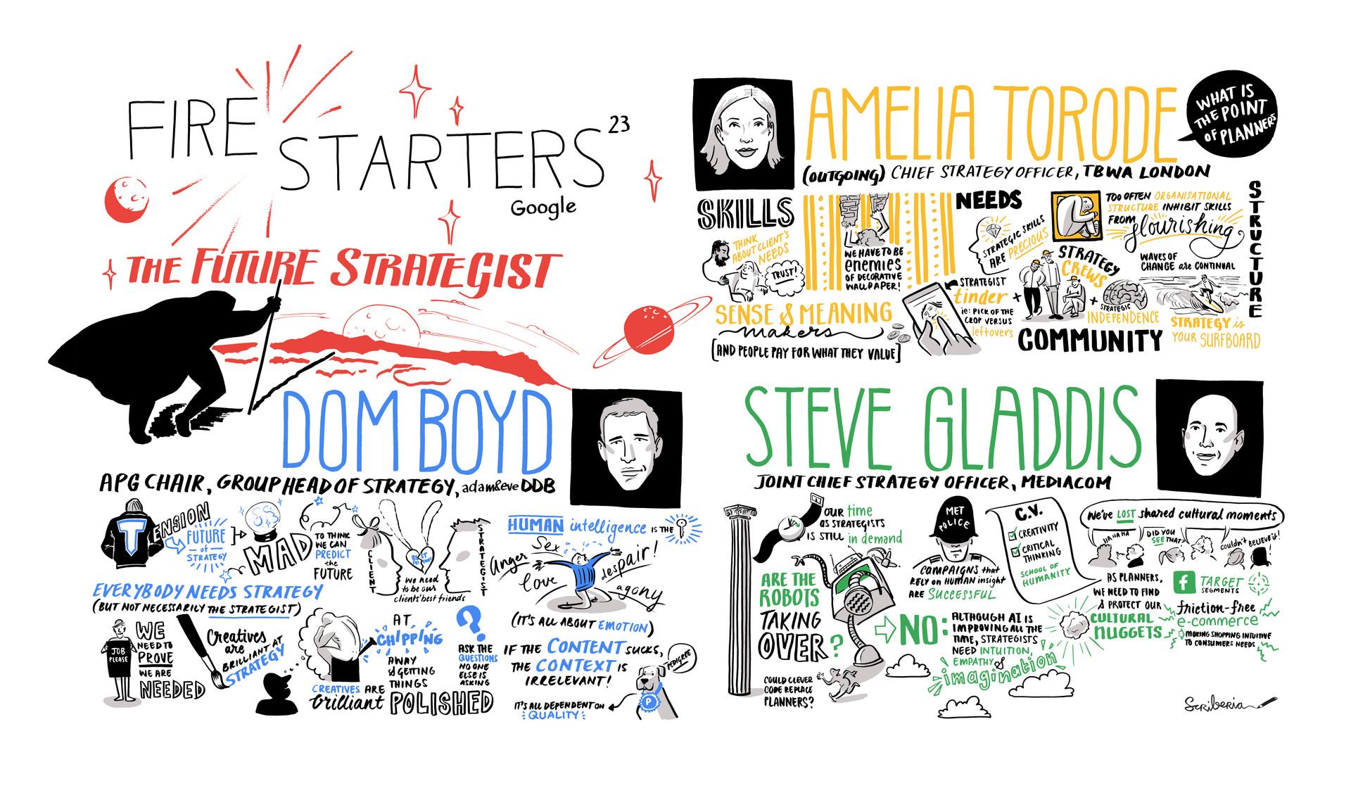 Google Firestarters 23: The Future Strategist