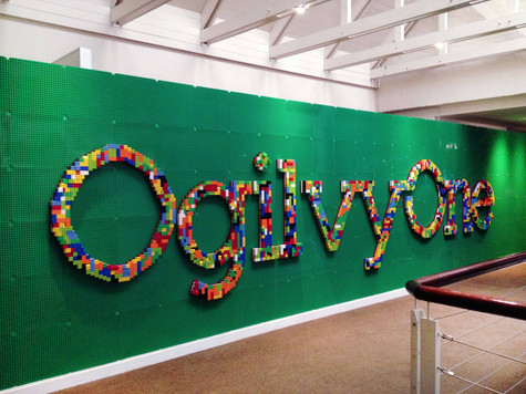 Lego Lettering Wall